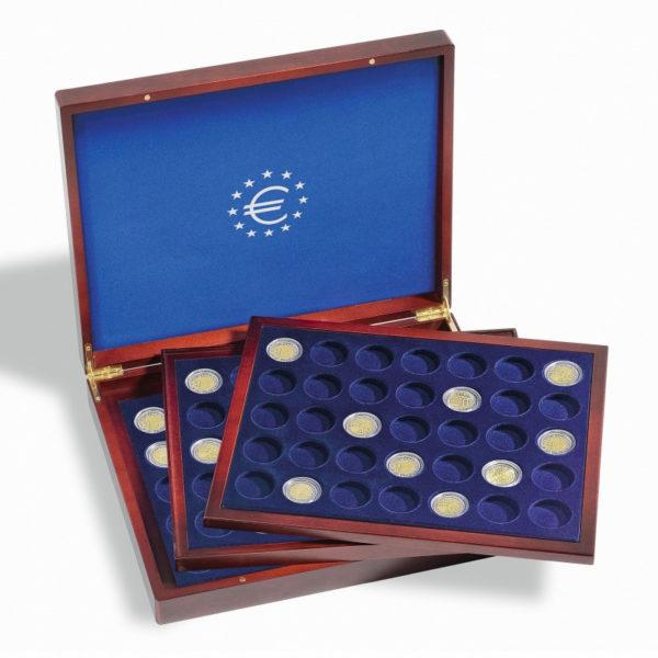 Coffret numismatique collection pièces de 2 euros commémoratives