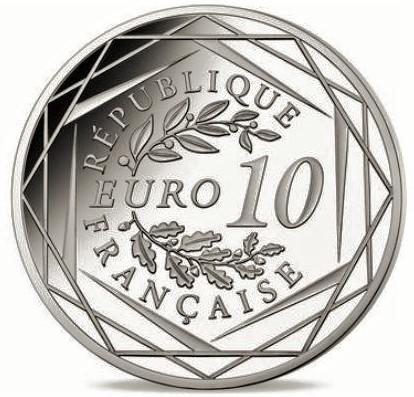 Pièce commémorative Charles de Gaulle 10 euros argent