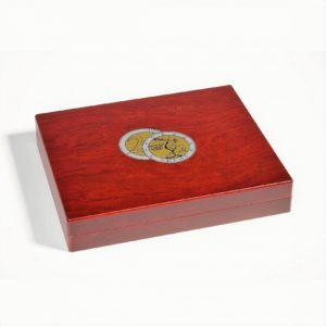 coffret de luxe 2 euros pièces commémoratives