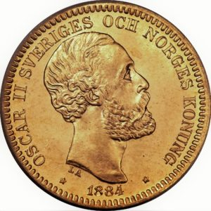 20 zweedse kronen Oscar II