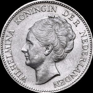 1 gulden Wilhelmina - Koningin der Nederlanden