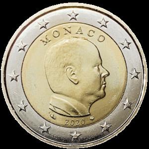 Prins Albert II munt